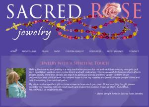 Sacred Rose Jewelry